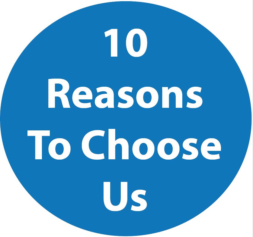 10 Reasons to Choose Us Circle Button